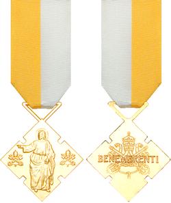 Benerementi Medals - Jenny & Rusty Norris